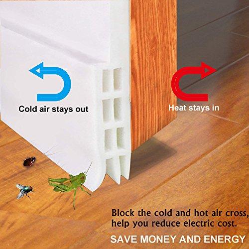door bottom seal strip energy