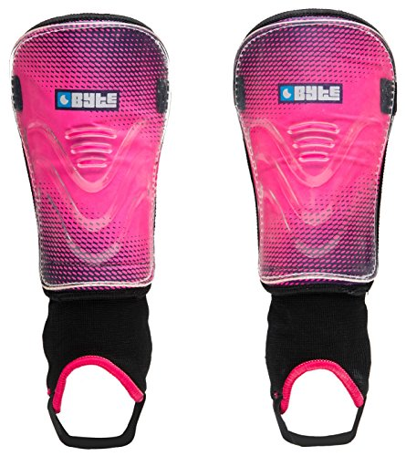Byte MX Junior ShinguardsPink/black Large