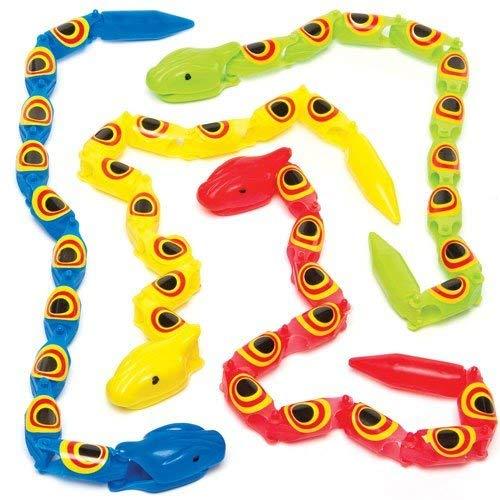 くねくね動くヘビ(5個入り)子どもたちのアクティビティ、パーティやゲームの景品に B01DXV8GO4, 人形の一藤:6ff4484d --- fancycertifieds.xyz