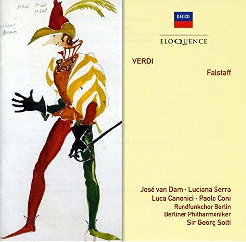 Van Dam/ Serra/ Canonici/ Solti/ Berliner Philharm Falstaff Other Classic