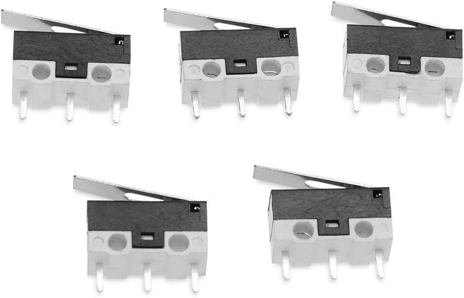 JIUYAODIANZI LDTR-YJ015 3Dprinter Limit Switch Impact SwitchMicroswitch Sensitive SwitchSmart Car Robot Accessories5pcs Electronic Components Computer Accessories