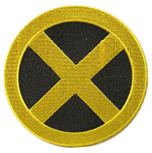 Blue Heron Marvel Comics X-Men Cyclops 3.5 Logo Scott Summer Embroidered Iron/Sew-on Applique Patch by Blue Heron