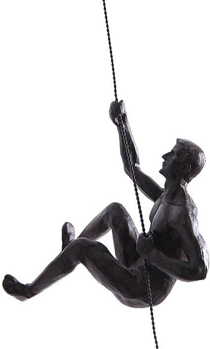 Escultura de resina simple y moderna nordica para hombre ...