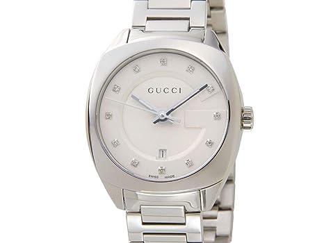 6ba6a5618988 グッチ GUCCI 時計 YA142504 GG2570 ダイヤインデックス ブラック レディース 腕時計 [並行輸入品]
