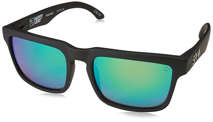 84bf195e15 Spy Optics Helm Matte Wayfarer Polarized Sunglasses,Black,57 mm: Spy ...