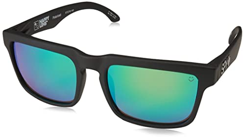 Amazon.com: Spy Optic, lentes de sol planos, negro, 57 mm ...