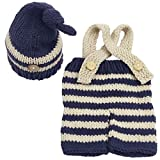 Jastore Newborn Infant Baby Boy Photography Prop Costume Cute Cap Pants (Style 8)