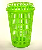 Best Hamper With Lid Limes - Circular Plastic Laundry Linen Basket Bin Storage Hamper Review
