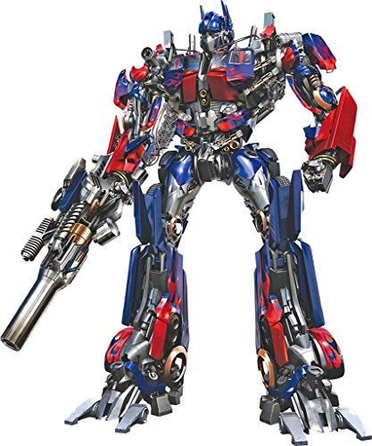 (OPTIMUS PRIME Decal WALL STICKER TRANSFORMERS Movie C540, Large)