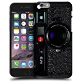 Case Fun M9 Black Camera Style 2 Snap-on Hard Back Case Cover for Apple iPhone 6 (4.7 inch)
