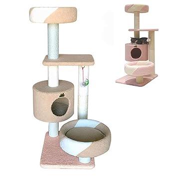JLCYYSS Muebles para Gatos, Cat Tree Tower Juego para Gatos con rasguño de sisal,