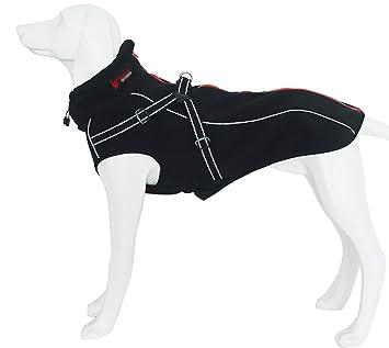 Morezi Abrigo de Invierno Reflectante para Perro, Abrigo Deportivo cálido de Doble Capa de Tela