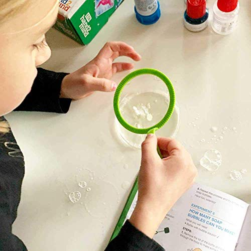 hand2mind Water and Bubbles Science Kit for Kids 8-12, Kids Science Kit with Fact-Filled Guide, Make Water Tornadoes and…