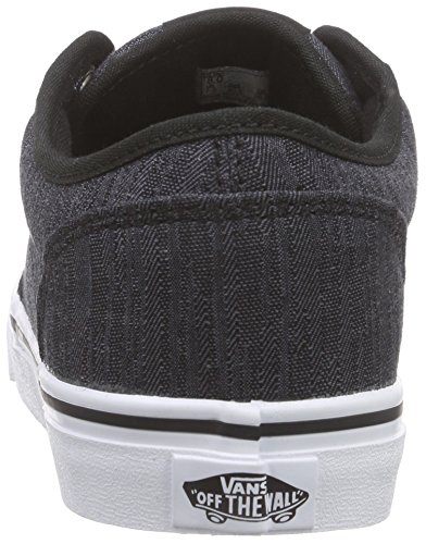 Distress Black White Sneakers Atwood Vans Herren Schwarz vp8fxIn