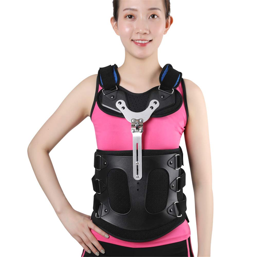 DQHyy Thoracic Full Back Brace, Treat Kyphosis, Osteoporosis, Spine Compression Fractures, Orthosis Support Scoliosis Brace,M by DQHyy