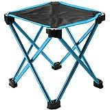 Tsuyumi アウトドアチェア 折りたたみ式超軽量超コンパクト (耐荷重150kg) ミニフォールディングイス 収納バッグ付き椅子
