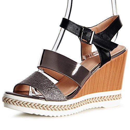 Sandalettes Sandales Femmes Topschuhe24 Topschuhe24 Noir Femmes q8t6YI