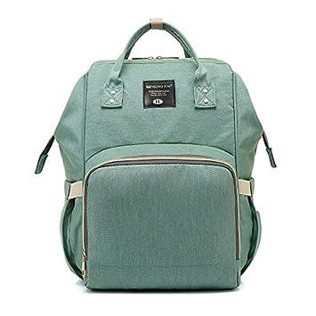 Amazon.com: Bolsa de pañales, mochila multifunción de viaje ...