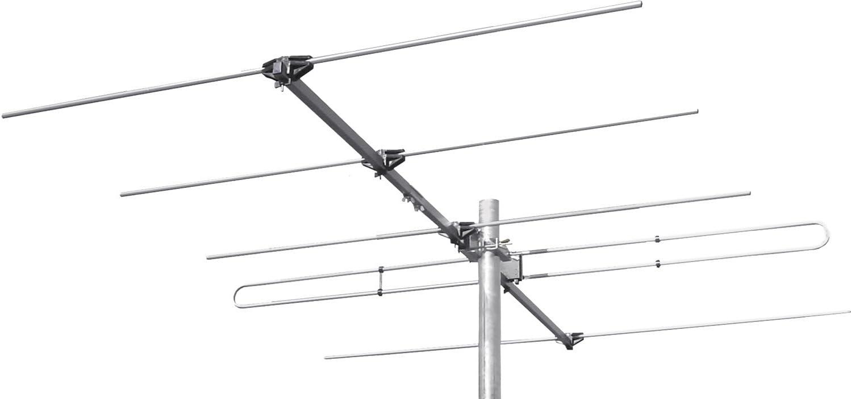 SKT tak04 FM directividad de Antena 5 Elementos FM Radio Aluminio