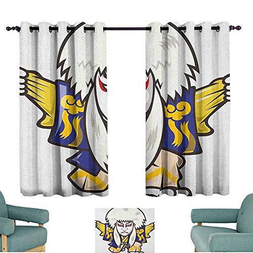 SONGDAYONE Heat Insulation Curtain Kabuki Mask Cafe