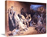 Imagekind Wall Art Print entitled The Martyrdom Of The Holy Innocents - Gustave Dore by Celestial Images | 48 x 32