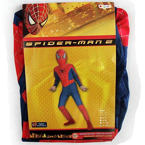 Spiderman Costume Boy Movie 2 - Child Plus 7-10