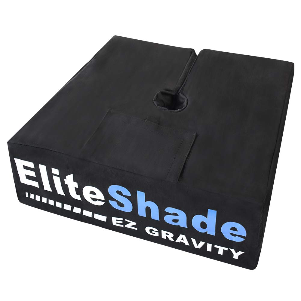 EliteShade 19 Square Umbrella Base Sand Weight Bag Market Patio Outdoor Heavy Duty Umbrella Holder – Up to 110 lbs