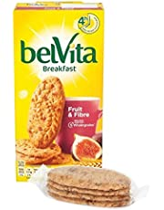 Belvita Fruit & Fibre Biscuits - 6 x 50g