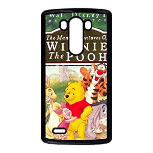 LG G3 Cell Phone Case Black Many Adventures of Winnie the Pooh 011 LAJ7092544