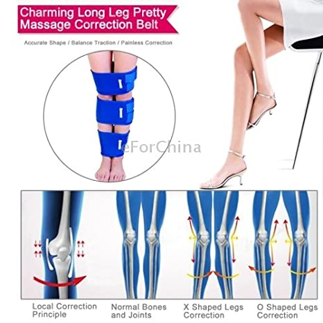 581cb4e5ae85 Dynamic Portable Charming Long Leg Pretty Massage Correction Belt Set   Amazon.in  Electronics