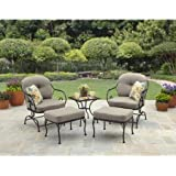 5 Piece Outdoor Dining Set | Better Homes And Gardens Patio Furniture Chair  And Ottoman