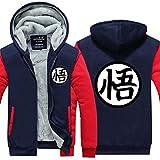 HOLRAN Anime Dragon Ball Goku Clothing Thick Jacket Cosplay Hoodie L ¡