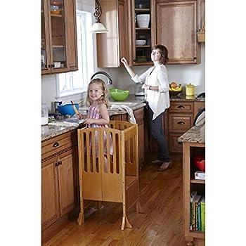Amazon Com Kidzwerks Child Standing Tower Child Kitchen
