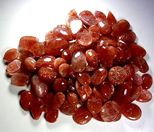 751CTS. WHOLESALE LOT NATURAL RED SUNSTONE MIX CABOCHON GEMSTONE