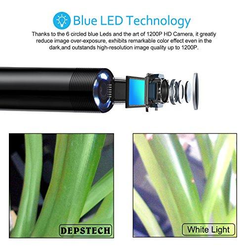 Оптика Wireless Endoscope, Depstech WiFi