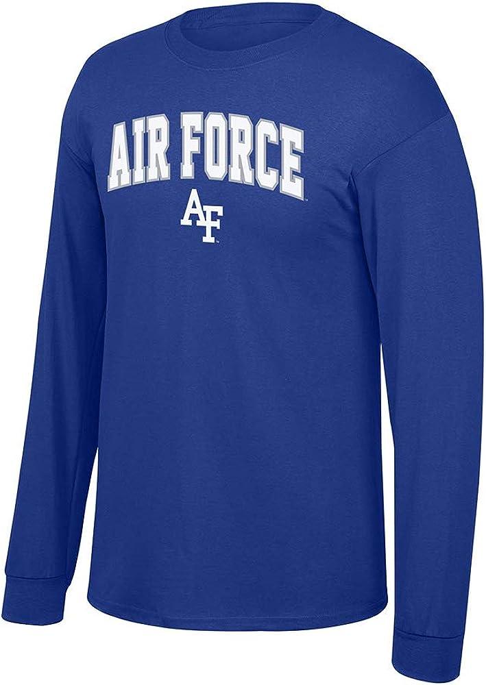 Elite Fan Shop Fan Favorite Team Color Long Sleeve Arch Tee Shirt