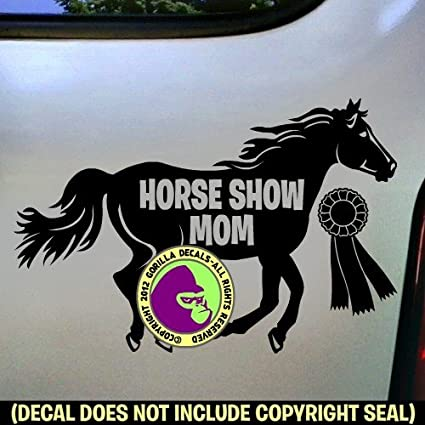 HORSE Vinyl Decal Sticker Car Window Bumper Wall Love Symbol Running Farm Animal