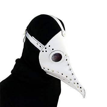 Kehuashina 1 unids Nuevo Dr. Beulenpest Steampunk Plaga Doctor Máscara de Cuero de LA PU