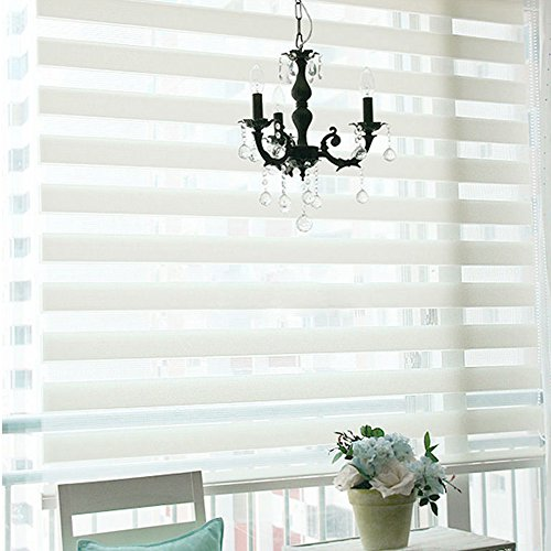 Quick fix light filtering window blinds zebra room for Exterior no chain window shade