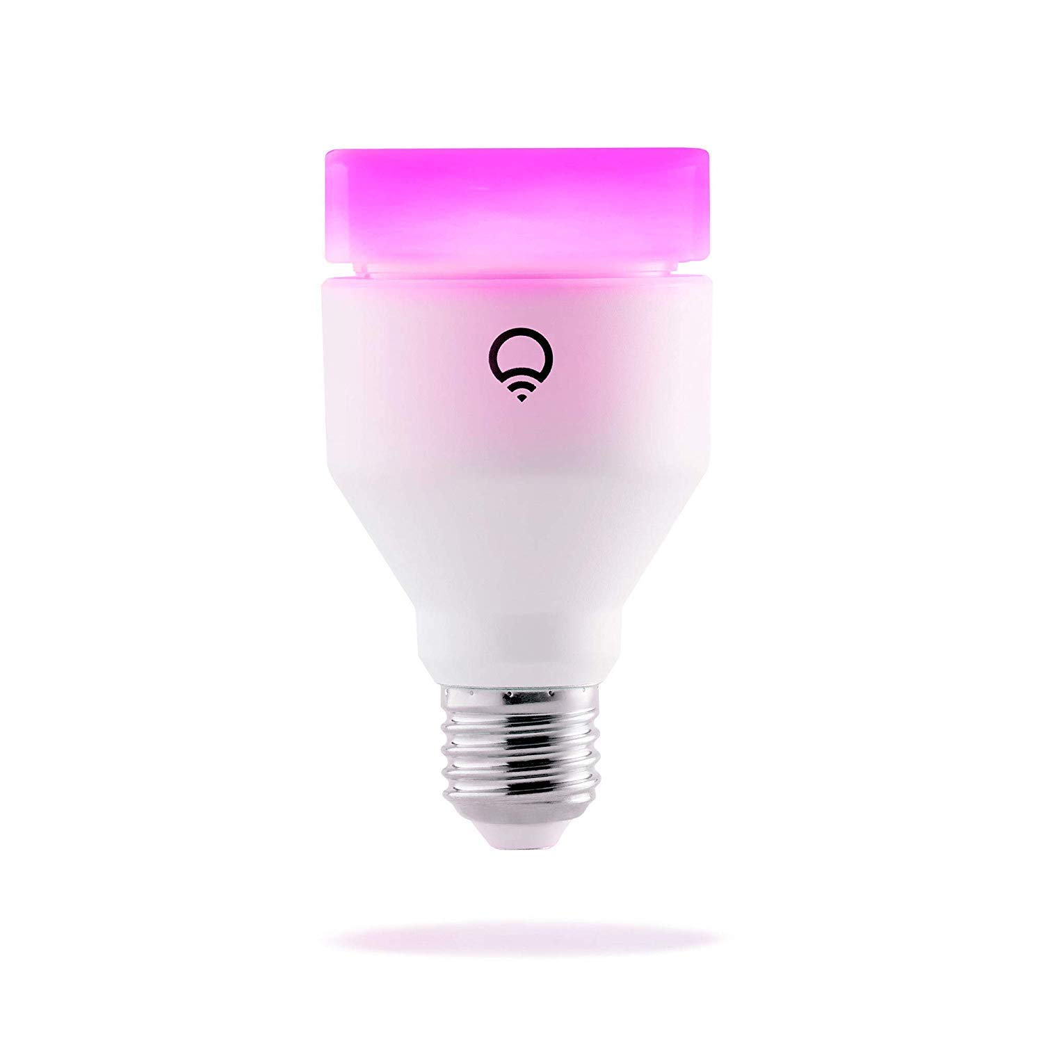 LIFX A19 Wi-Fi Smart LED Light Bulb, Multicolor (Renewed)