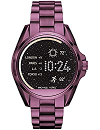 Access, Womens Smartwatch, Bradshaw Plum-Tone Stainless Steel, MKT5017