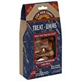 Lick Your Chops Treat-Umms Chicken Dumbbells with Rice Treats for Dogs, 2.5-Ounce Boxes (Pack of 6), My Pet Supplies