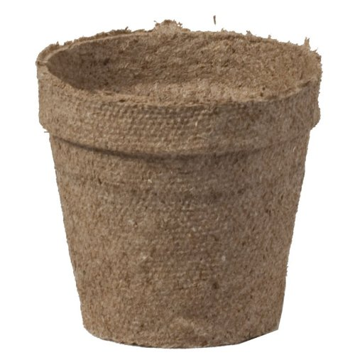 Jiffy 70000494 Round 2.25-Inch Peat Pots, Pack of 2816 by Jiffy (Image #1)