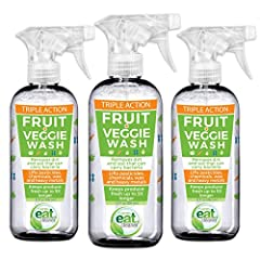 Take Back Control of What You Put in Your Body with Eat Cleaner Fruit and Vegetable Spray and Wash!  The Centers for Disease Control and Prevention (CDC) estimates that 48 million people a year get sick from a foodborne illness. Harmful toxin...