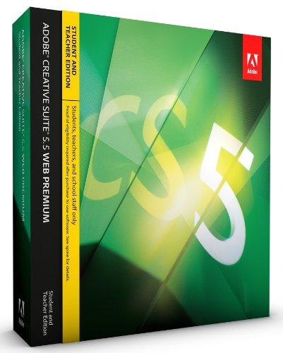 Adobe CS5.5 Web Premium Student and Teacher Edition [Mac]