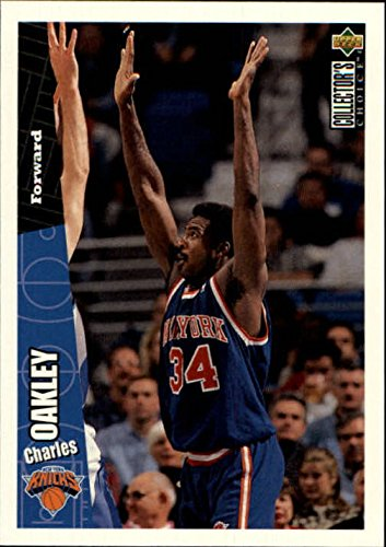 1996-97 Collector's Choice International German #101 Charles Oakley - - Collectors Oakley