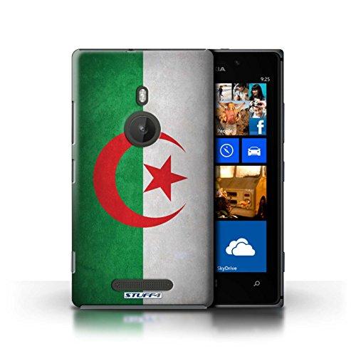 Kobalt® Imprimé Etui / Coque pour Nokia Lumia 925 / Algérie conception / Série Drapeau