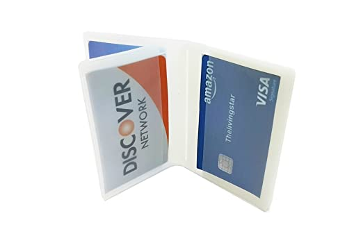 10 page plastic wallet insert for bifold credit card holds billfold 10 page plastic wallet insert for bifold business credit card holds billfold trifolds top load colourmoves