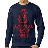 101Dog Hodor Mens Crew Sweatshirt Navy