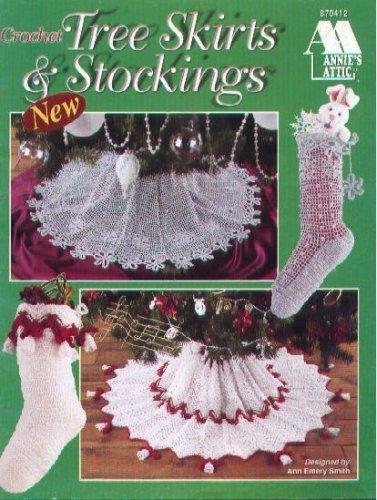 Crochet Tree Skirts & Stockings (Annie's Attic (Crochet Tree Skirt)
